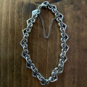 James Avery Heart Charm Bracelet